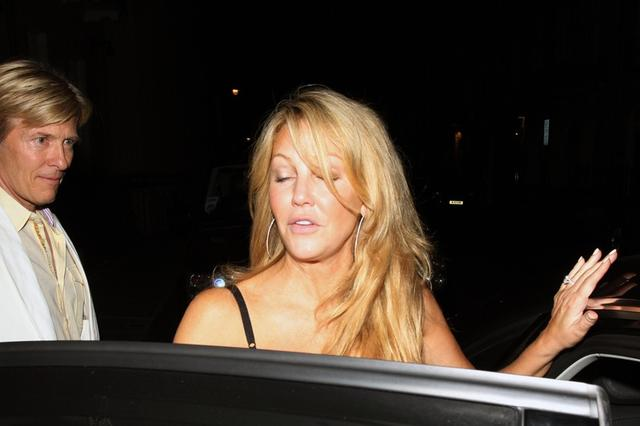 Heather Locklear Uma Thurman w szpitalu!