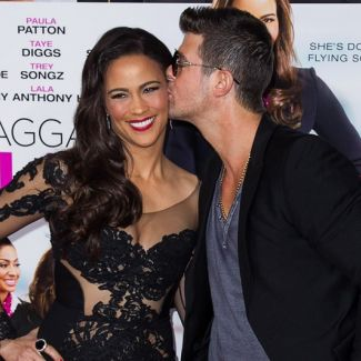 Robin Thicke i Paula Patton Robin Thicke i April Love Geary na wakacjach!