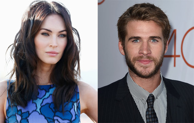 Megan Fox Liam Hemsworth Megan Fox na rodzinnym spacerze!