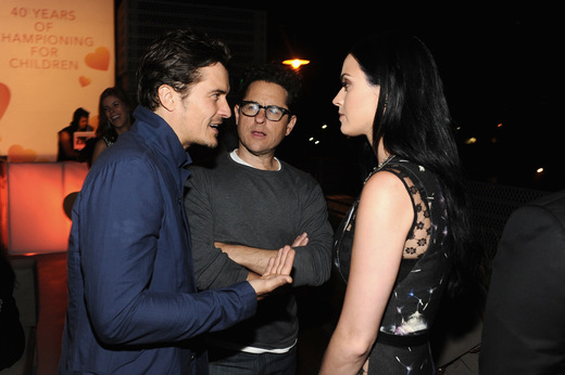 Orlando Bloom Katy Perry Ed Sheeran bliski utraty wzroku!