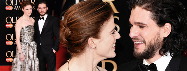 Kit Harington i Rose Leslie Kit Harington i Rose Leslie parą!