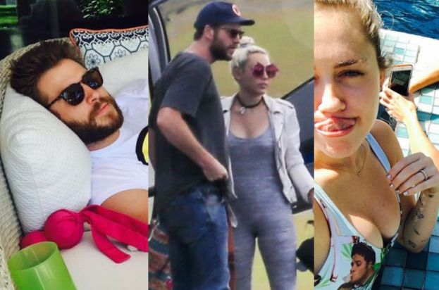 Miley Cyrus i Liam Hemsworth Miley Cyrus i Liam Hemsworth randkują!