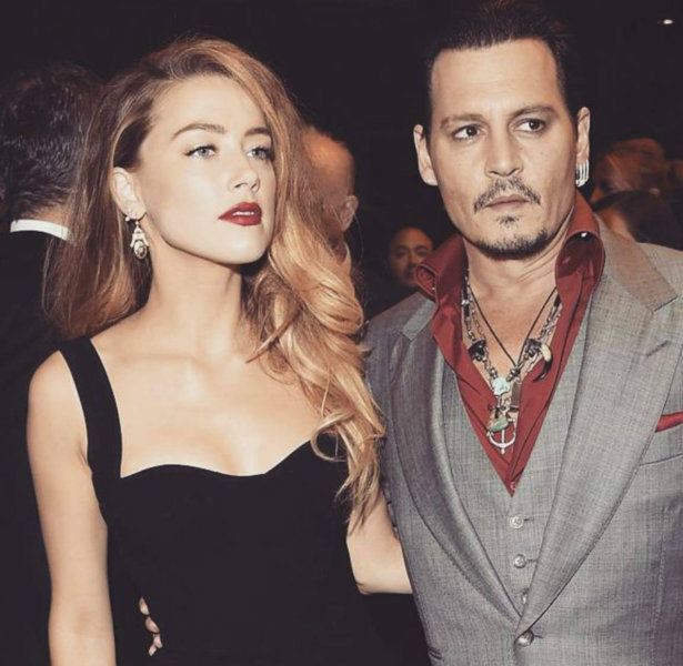 Johnny Depp i Amber Heard Johnny Depp pobił Amber Heard?!