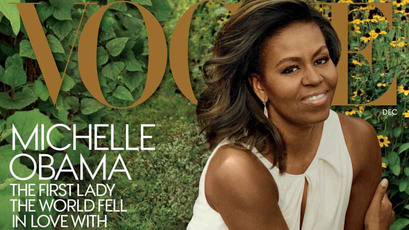 Michelle Obama Lady Gaga i Michelle Obama na jednej okładce!