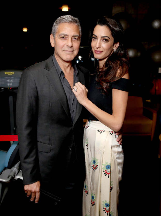 Clooney1 Państwo Clooney w Cannes!