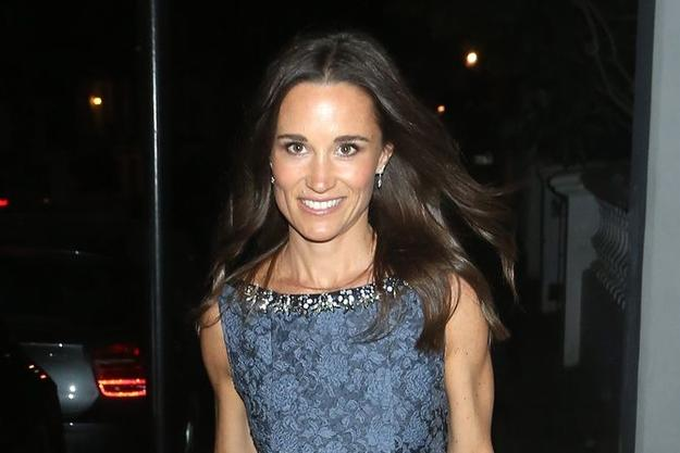 Pippa Middleton Pippa Middleton poszła na lunch z trenerem!