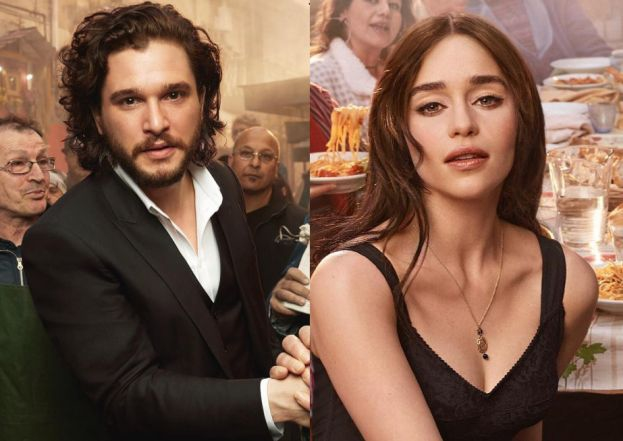 Emilia Clarke Kit Harington Kit Harington i Rose Leslie parą!