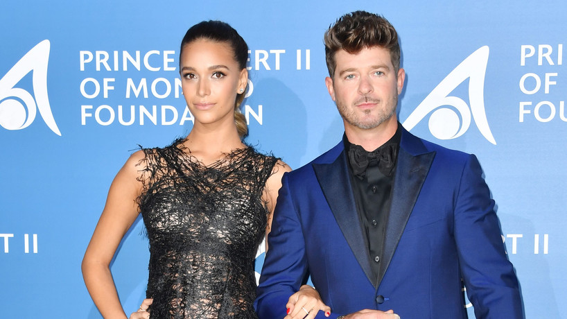 April Love Geary Robin Thicke Robin Thicke znów zostanie ojcem!  April Love Geary znów jest w ciąży